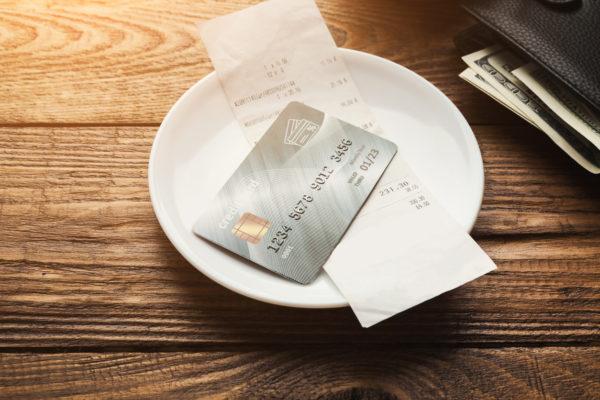 レシート クレジットカード